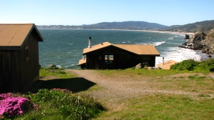 Our vacation to Steep Ravine Cabins near Stinson Beach.
